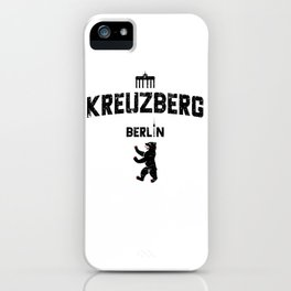 Kreuzberg Berlin iPhone Case