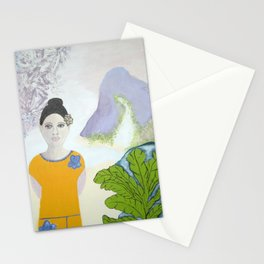 SAMOAN LADY Stationery Cards