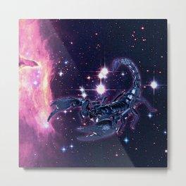 constellation scorpion Metal Print