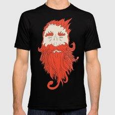 Beardsworthy Black Mens Fitted Tee SMALL