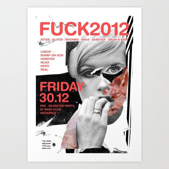 FUCK2012 ANALOG zine Art Print
