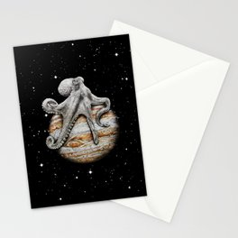 Celestial Cephalopod Stationery Cards