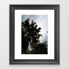 great sky Framed Art Print