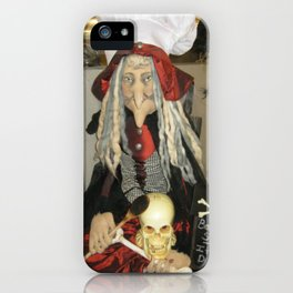 Halloween Witch Prop iPhone Case
