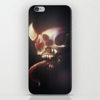 nightmare iPhone & iPod Skins featuring Nightmare by Rudolf Odobasic