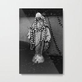 Black Mary Metal Print