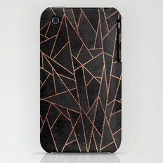 Shattered Black / 2 iPhone (3g, 3gs) Slim Case