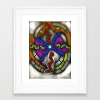 lsd Framed Art Prints featuring LSD by Sam Vasilevsky