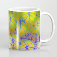 rare Mugs featuring Rare Jungle, Rainbow by Lindel Caine