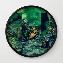 Fragment Wall Clock