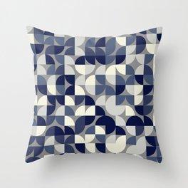 Quadrant Grid 2 Throw Pillow