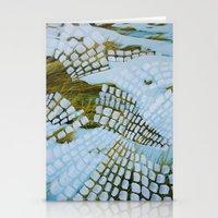 john snow Stationery Cards featuring Snow by John Turck