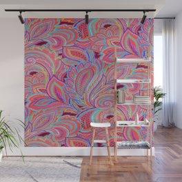 paisley heart  Wall Mural