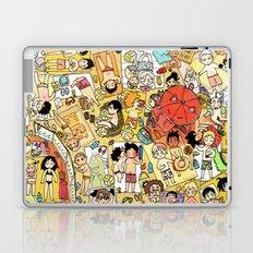 Volley beach Laptop & iPad Skin
