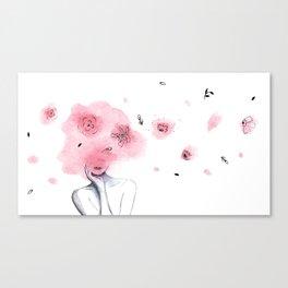 fashion girl Canvas Print