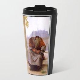 Bouguereau's Invisible Bohemian Travel Mug