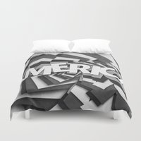 america Duvet Covers featuring America by politics