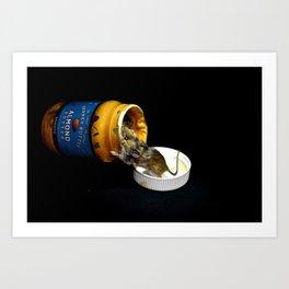 Almond Mouse Art Print