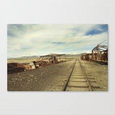Forgotten trains Canvas Print