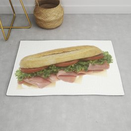 Deli Sandwich Rug