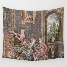 FRENCH TAPISSERIE REBOOT Wall Tapestry
