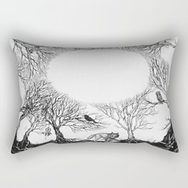 The last person in the world Rectangular Pillow