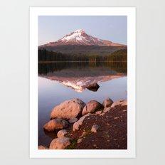 Mt Hood. Art Print