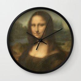 Beauty of Mona Lisa Wall Clock