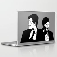 true detective Laptop & iPad Skins featuring True Detective by oslacrimale