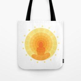 Shiny mandala Tote Bag