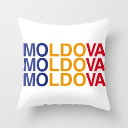 MOLDOVA Throw Pillow