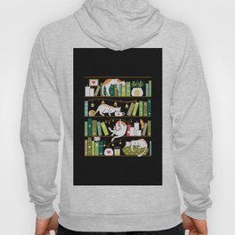Library cats Hoody