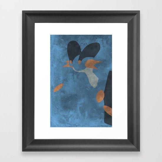 Swampert Framed Art Print