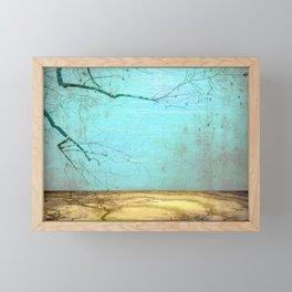 Golden Lake Framed Mini Art Print
