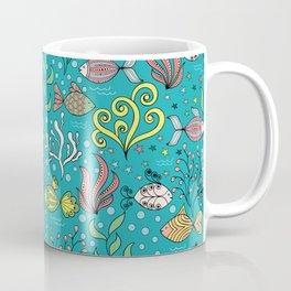 Colorful fishes Coffee Mug