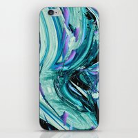 outer space iPhone & iPod Skins featuring outer space by blackarts