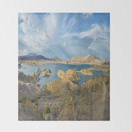Lake Mead Throw Blanket