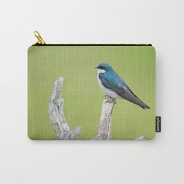 Retro Bird Background Pattern Cutest Carry-All Pouch