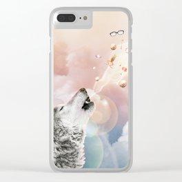 Espíritu Del Lobo Clear iPhone Case