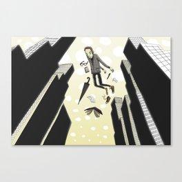 Sleepfloating Canvas Print