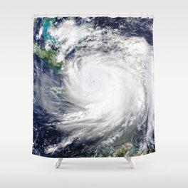 Gulf Coast Hurricane Shower Curtain