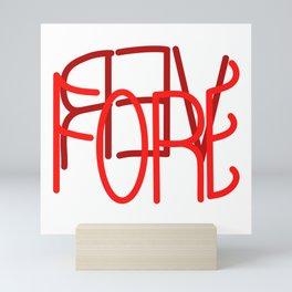 FOREVER Mini Art Print