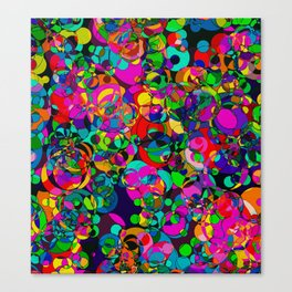 Bubble Chew Canvas Print