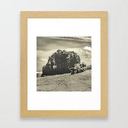 Big Rock at Praia Malhada Jericoacoara Brazil Framed Art Print