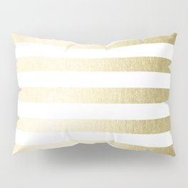 Simply Striped Gilded Palace Gold Pillow Sham