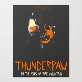 It Was Just Thunder Canvas Print