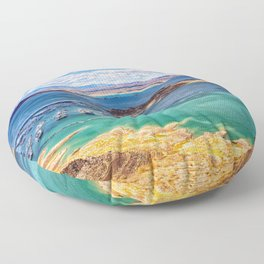 Lake Mead, Nevada Floor Pillow