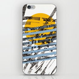 - blue or not - iPhone Skin