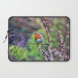 Garden Robin Laptop Sleeve