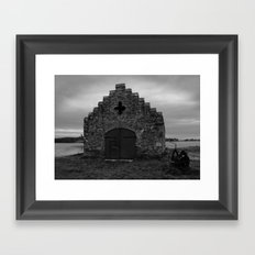 Church on Strangford Lough Framed Art Print